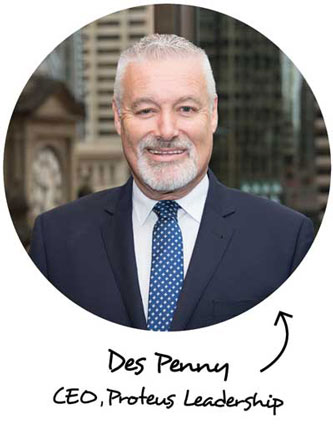 Des Penny - CEO, Proteus Leadership