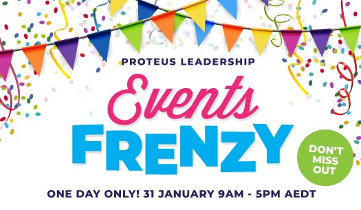 Proteus Leadership Events Frenzy