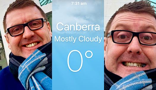 Richard Dore in Canberra