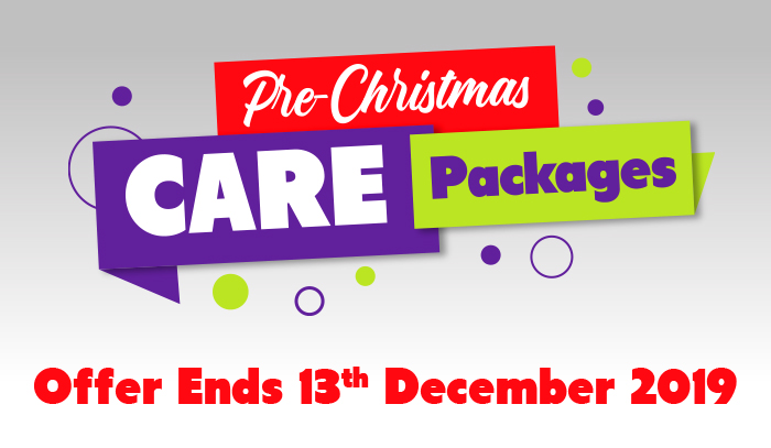 Pre-Christmas Care Packages